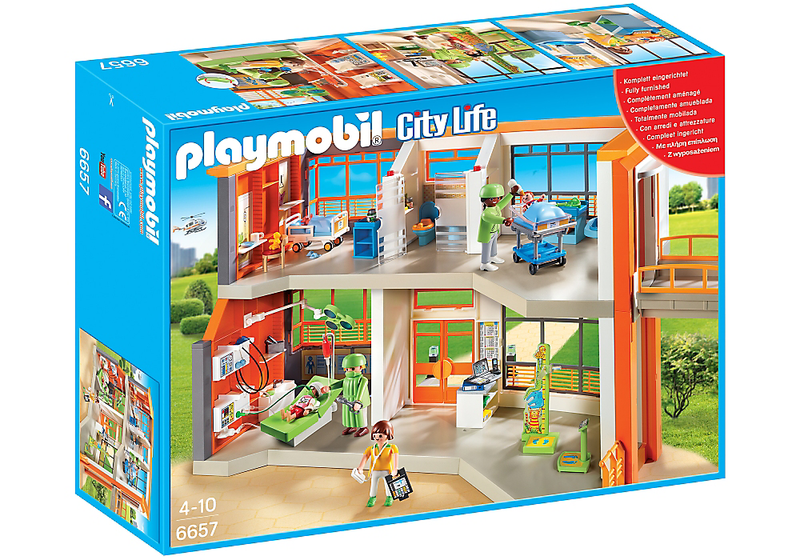 Playmobil Furnished Children's Hospital - 6657