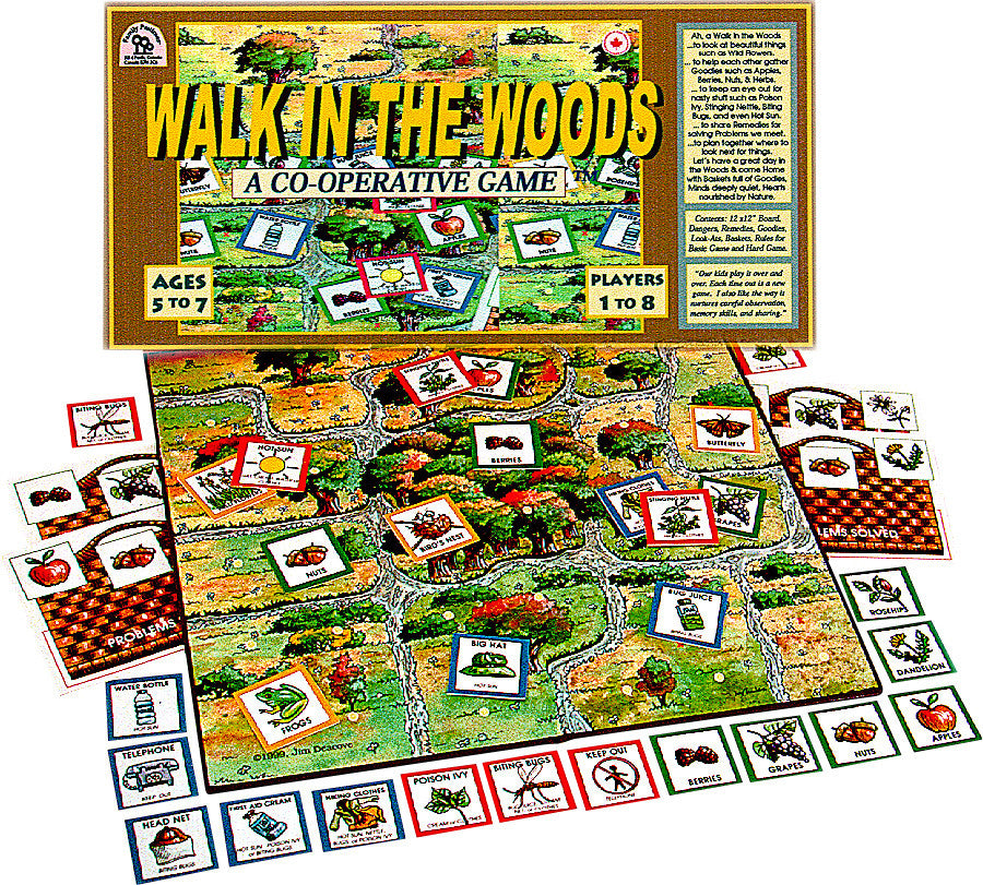 Family Pastimes Walk In The Woods Game