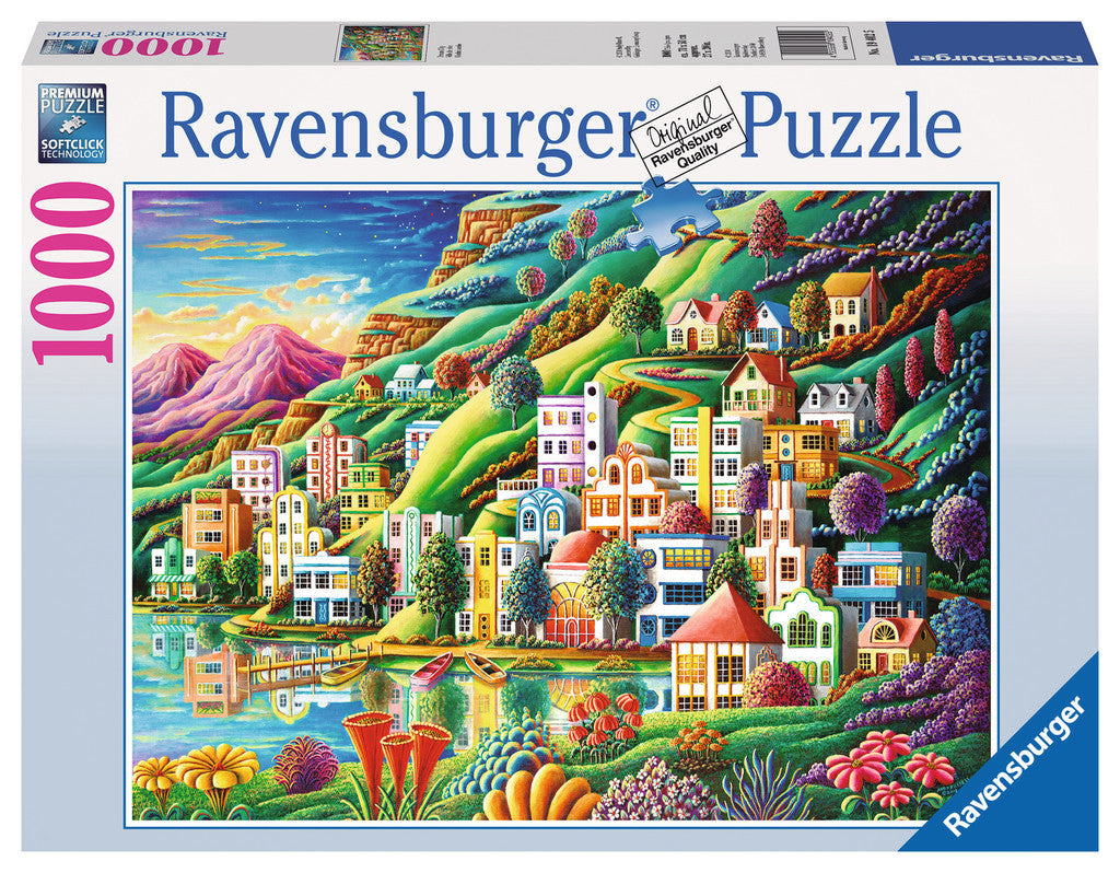 Ravensburger 1000 Pieces Puzzle Dream City - 19402