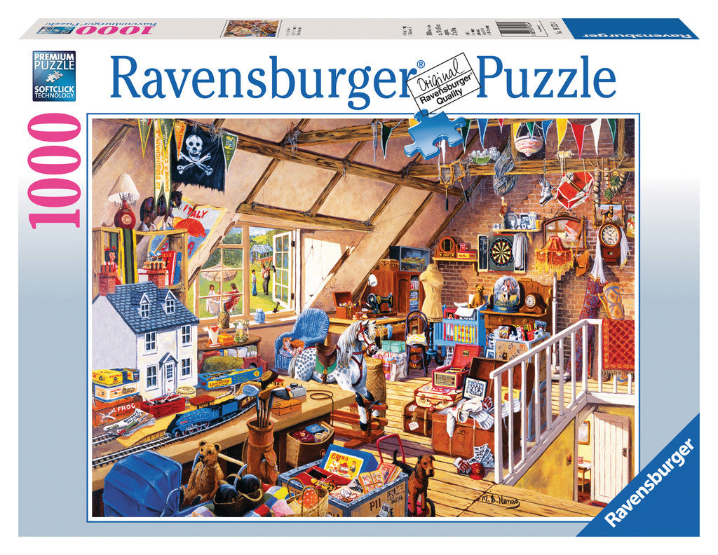 Ravensburger 1000 Pieces Puzzle Grandma's Attic - 19272