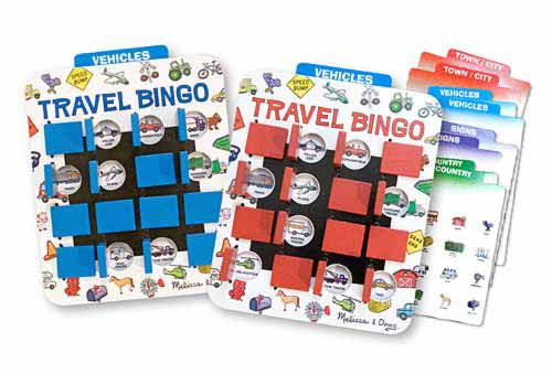 Melissa & Doug 2091 Travel Bingo