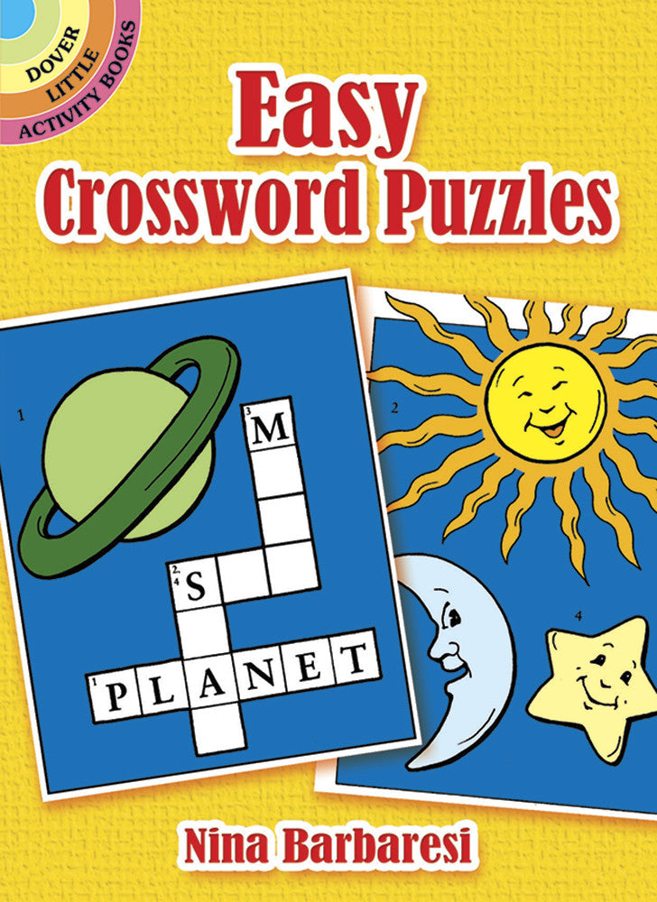 Dover Storybooks - 048626128X | Easy Crossword Puzzle Book