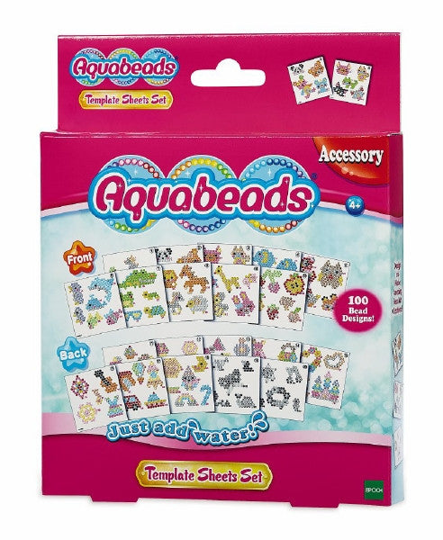Aquabeads Design Template Sheets
