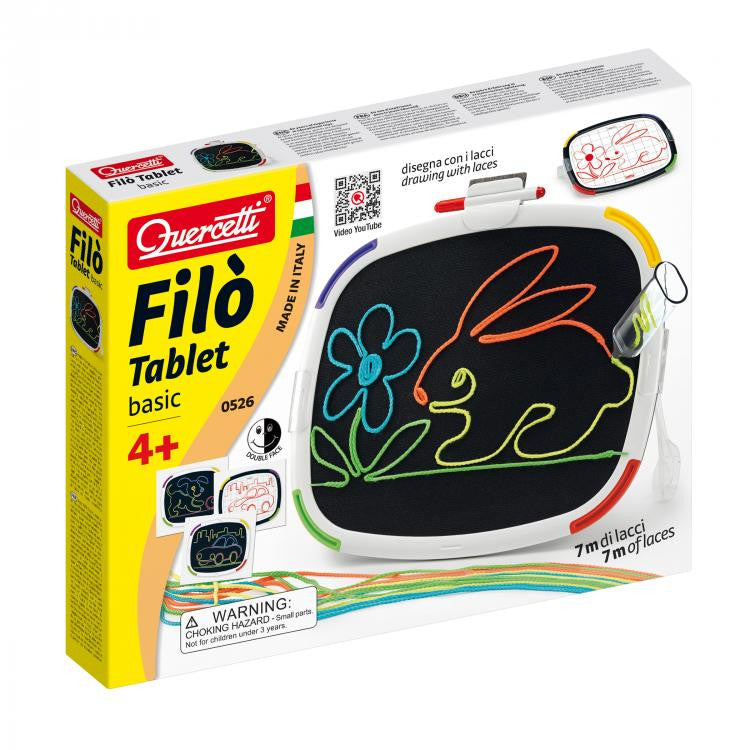 Quercetti - 0526 | Filo Tablet Basic