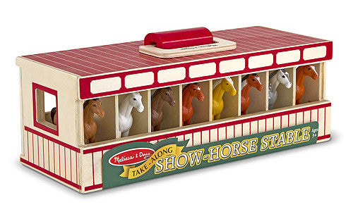 Melissa & Doug 13744 Mini Show - Horse Stable