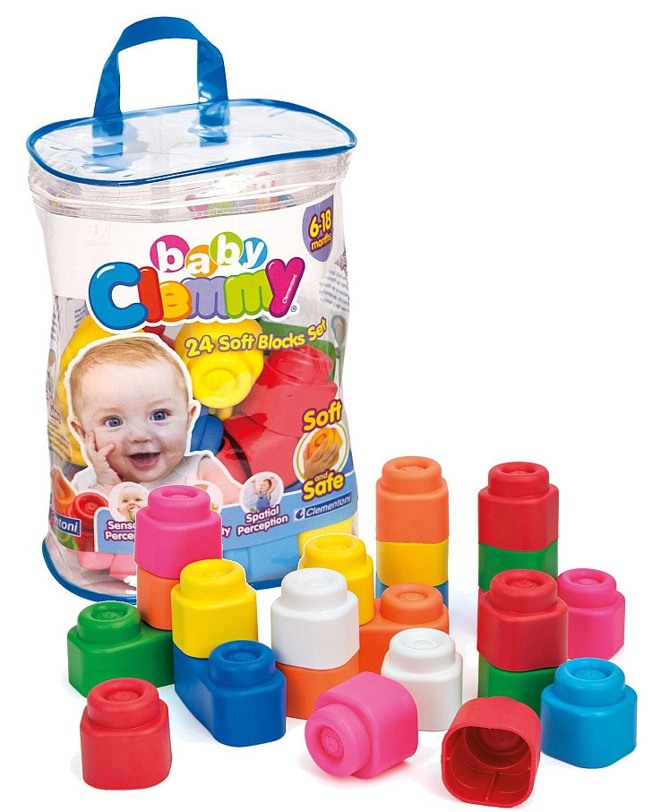 Baby Clemmy Set of 24 Soft Blocks