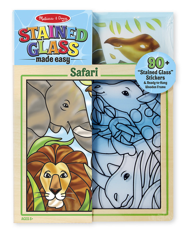 Melissa & Doug 19436 Easy Stained Glass - Safari