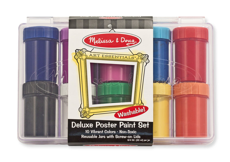 Melissa & Doug 14123 Deluxe Poster Paint Set - 10 Colors