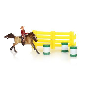 Breyer Barrel Racing Set 1:32 - 5377