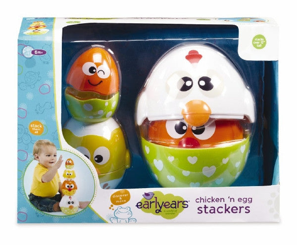 International Playthings Chicken And Egg Stackers - 00293