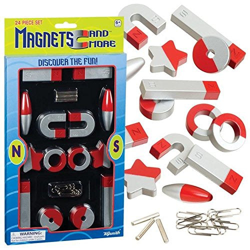 Toysmith Deluxe Magnets 24 Pieces Set