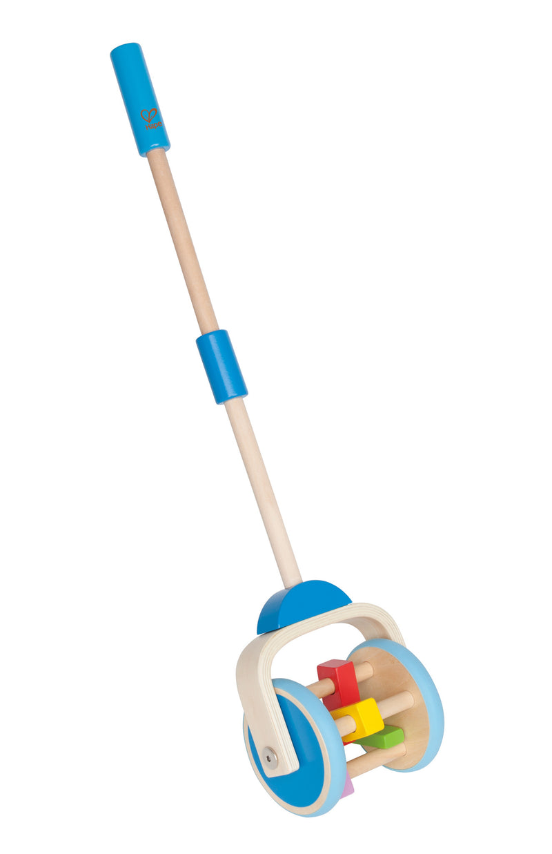 Hape Lawnmower Wooden Push And Pull - E0345