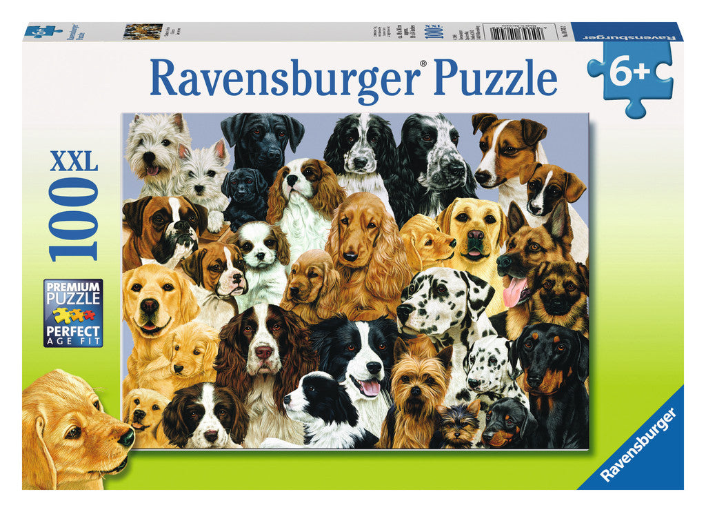 Ravensburger 100 Pieces Puzzle Mother's Pride Dogs - 10745