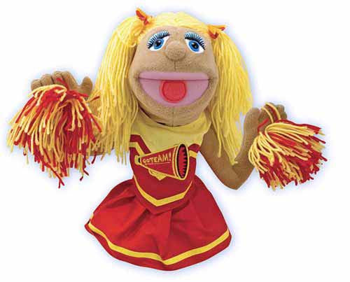 Melissa & Doug 12554 Cheerleader Puppet