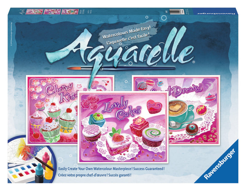 Ravensburger Aquarelle Watercolour Maxi: Sweet Dreams - 294855