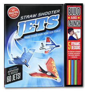 Klutz Straw Shooter Jets Book