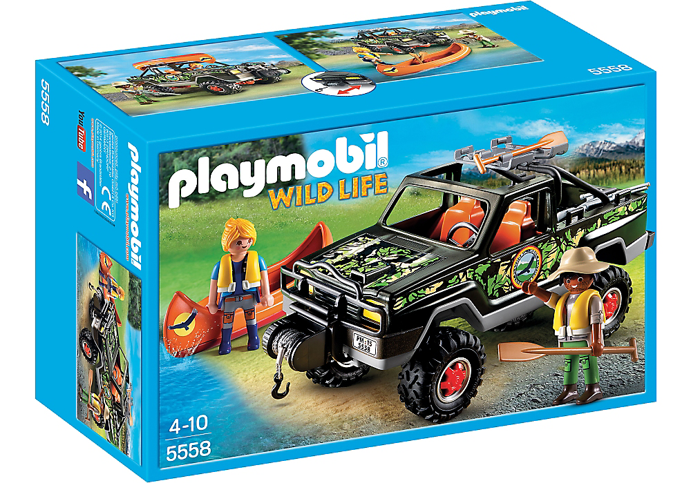 Playmobil - 5558 | Wild Life: Adventure Pickup Truck