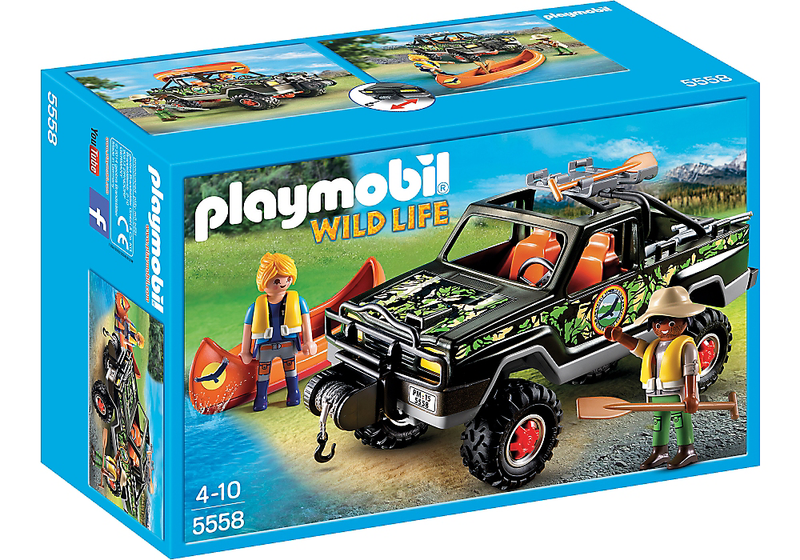 Playmobil Adventure Pickup Truck - 5558