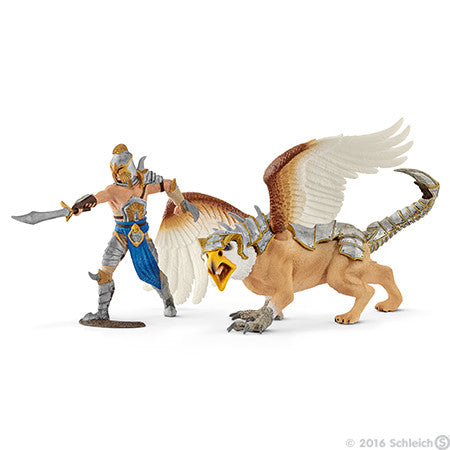 Schleich Eldrador Warrior With Griffin - 70129