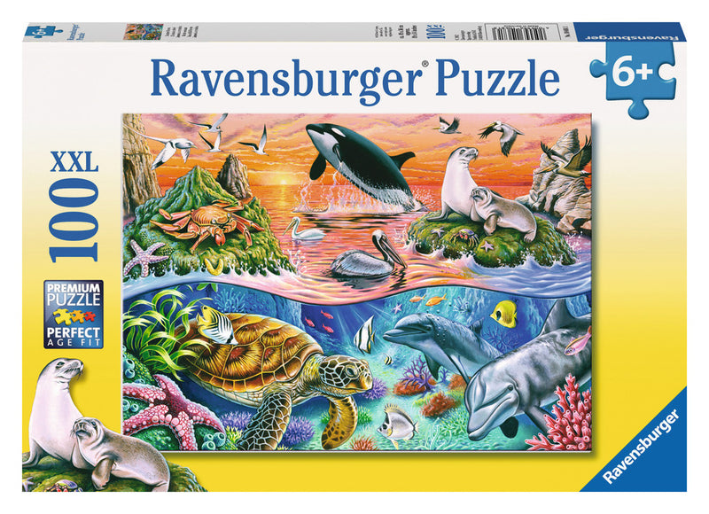 Ravensburger 100 Pieces Puzzle Beautiful Ocean - 10681