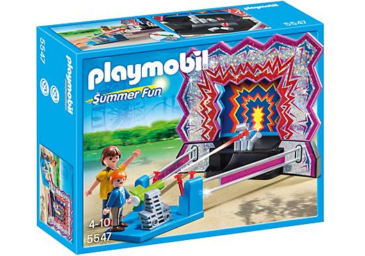 Playmobil - 5547 | Summer Fun: Tin Can Shooting Game