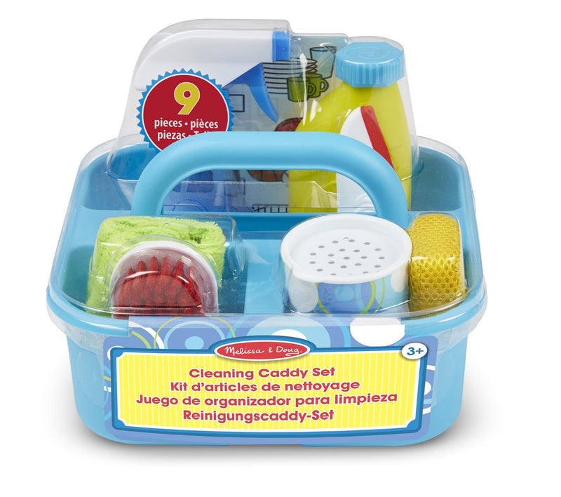 Melissa & Doug 18602 Pretend Play Cleaning Caddy Set