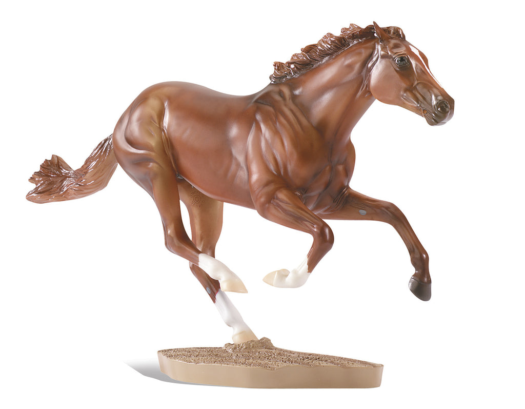 Breyer Secretariat Horse 1:9 - 1345
