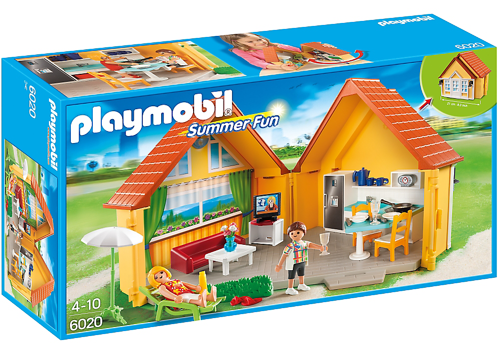 Playmobil - Summer Fun: Take-Along Country House