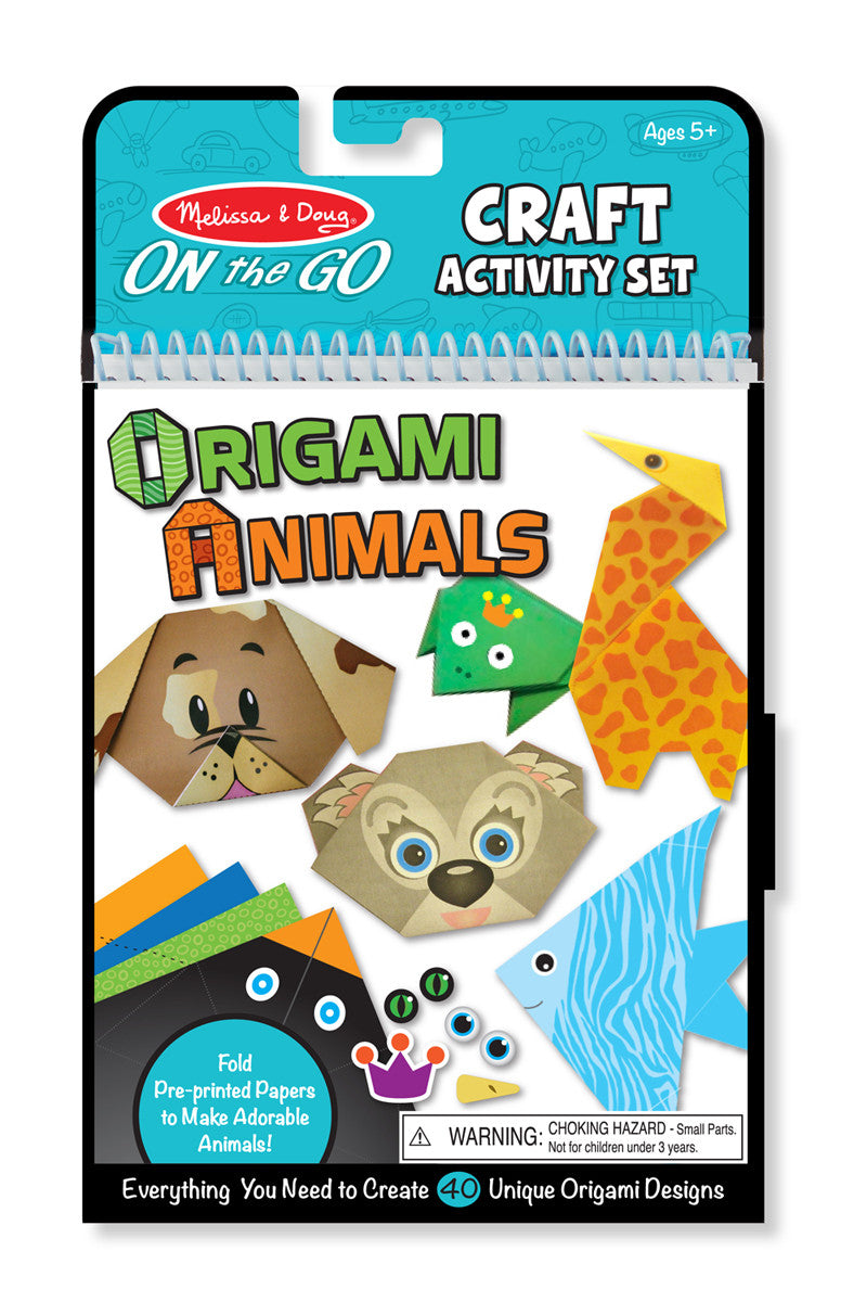 Melissa & Doug 9442 On-The-Go Crafts Origami Set