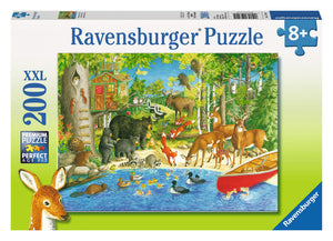 Ravensburger 200 Pieces Puzzle Woodland Friends - 12740
