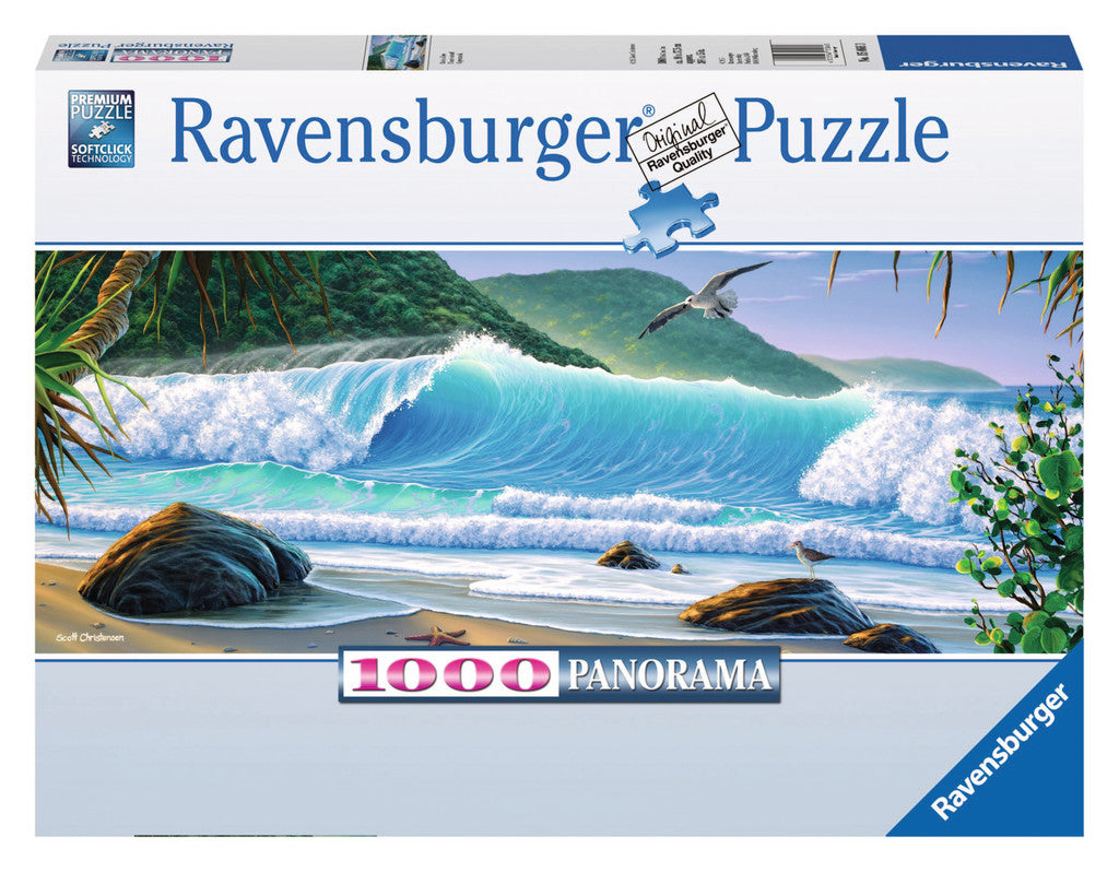 Ravensburger 1000 Pieces Puzzle Catch A Wave - 15066