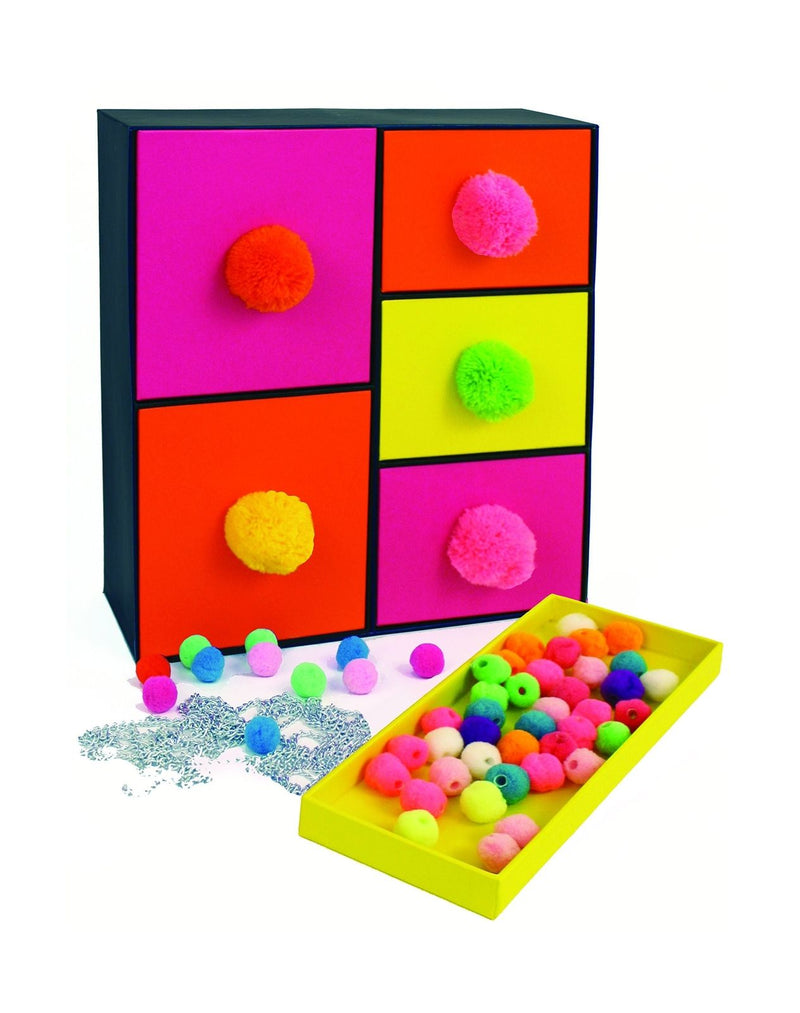 POM POM CHEST - SUNRISE (5 DRAWERS) 1171 Castle toys