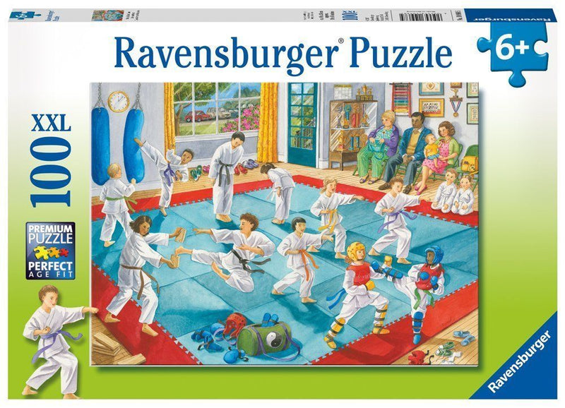 Ravensburger - Martial Arts Class 100 Piece XXL Puzzle