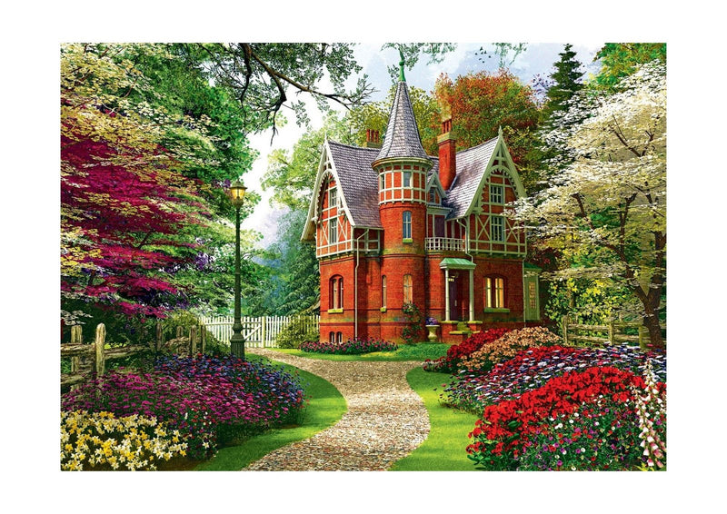 Pierre Belvedere Inc. - Victorian Cottage, 1000 Piece Puzzle