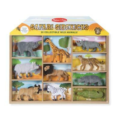 593 Safari Sidekicks - 10 Wild Animals