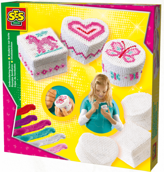 SES Creative - 146511 | Embroidering Boxes