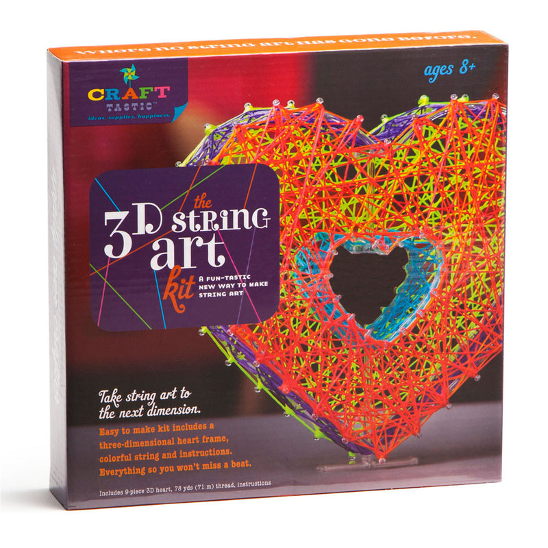 Craft-Tastic - LCT1504 | 3D String Art Kit