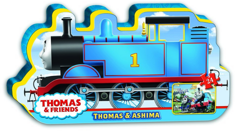 Ravensburger - 13692 | Thomas & Friends: Thomas & Ashima, 24 Piece Puzzle