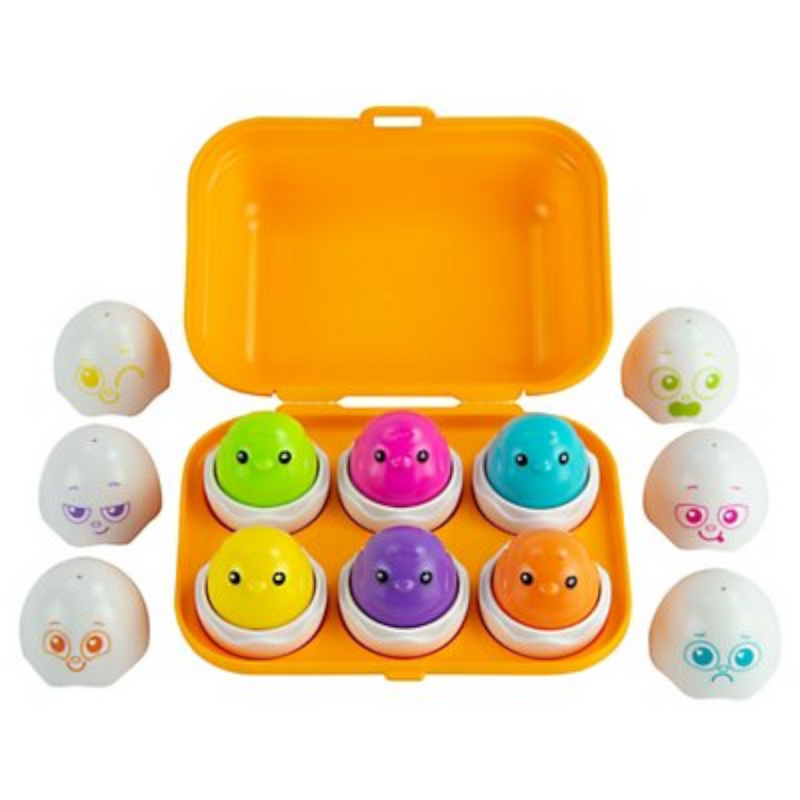 Tomy - L27354 | Sort & Squeak Eggs