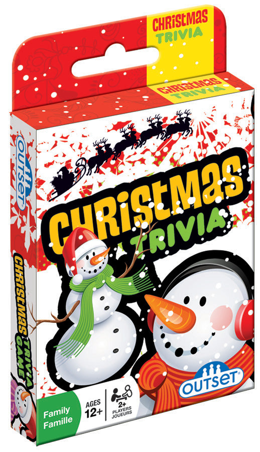 Outset Media: Christmas Trivia Card Game