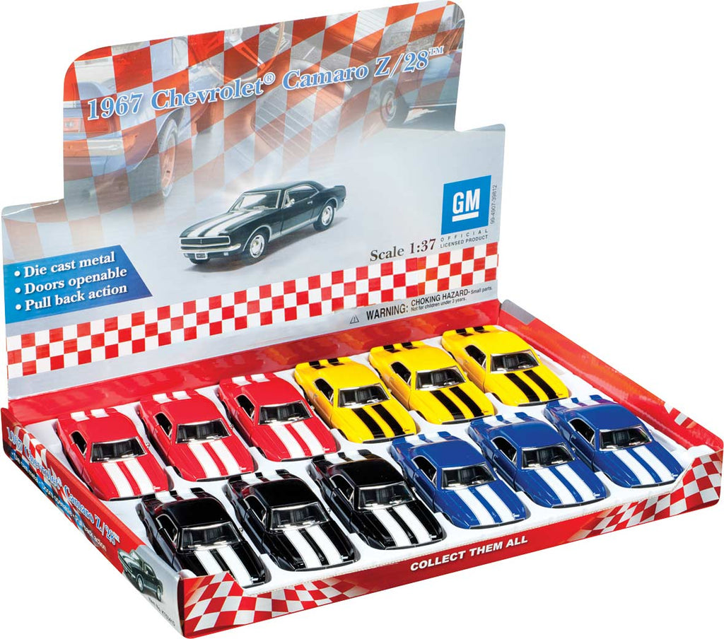 Toysmith - 8090 | Chevy Camaro - Die Cast Assorted Colors