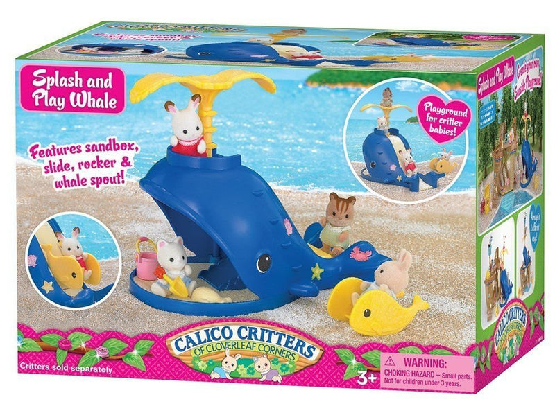 Calico Critters - CC1408 | Splash & Play Whale