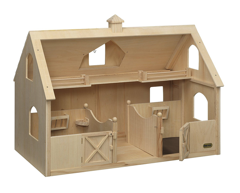 Breyer - 302 | Traditional: Deluxe Wood Barn With Cupola