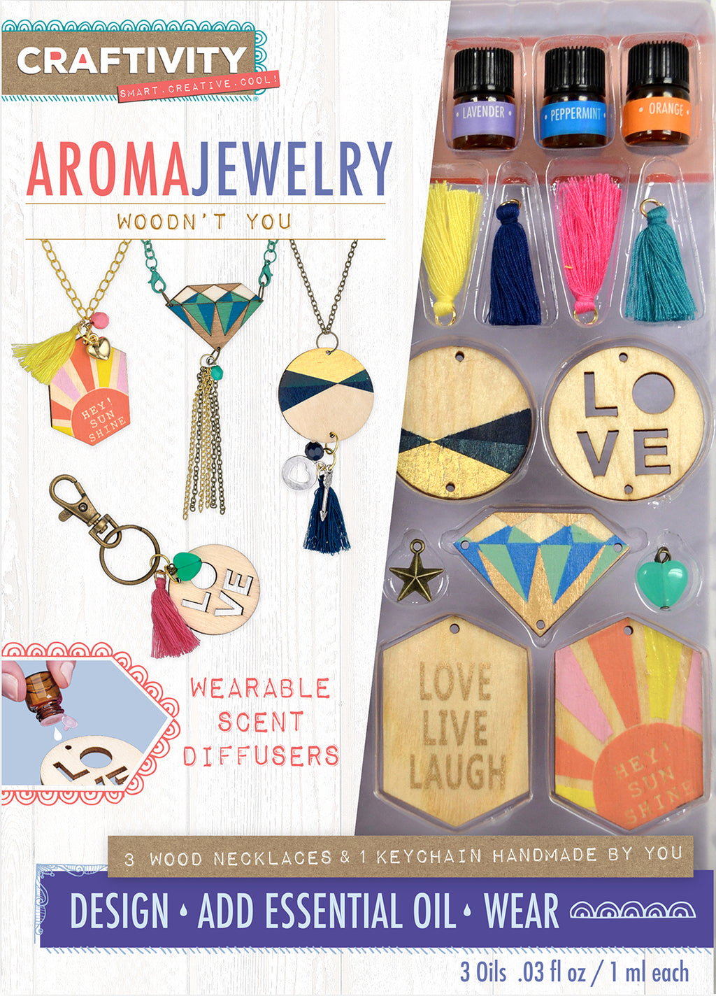 Craftivity - Aroma Jewelry: Woodn't You