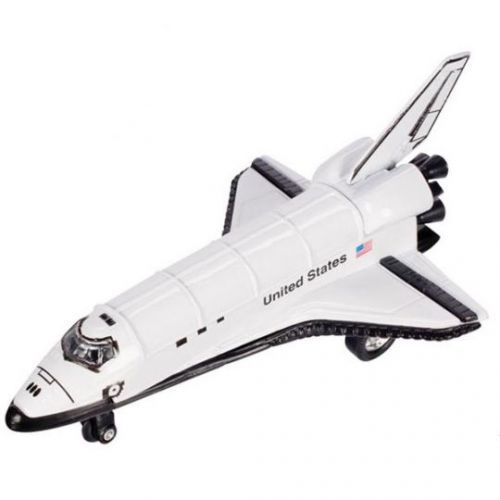 Toysmith - 2518 | Pull-Back Space Shuttle - Die Cast