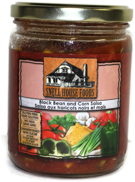 Snell House Black Bean & Corn Salsa