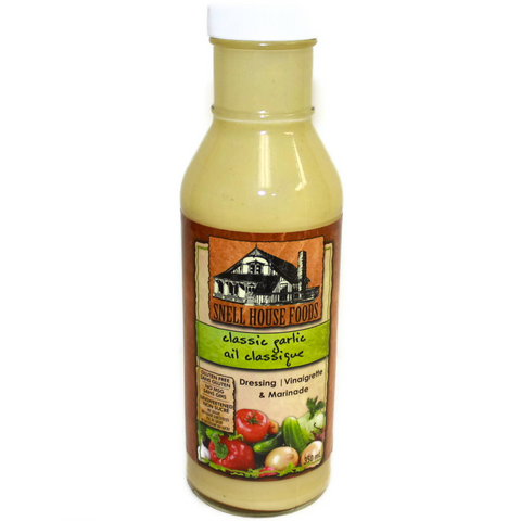 Snell House Classic Garlic Salad Dressing