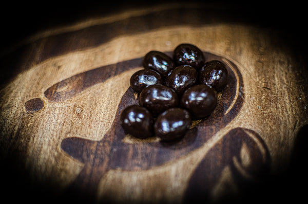 Dark Chocolate Espresso Beans (4oz)