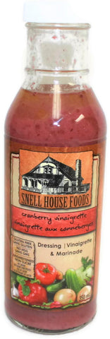 Snell House Cranberry Vinaigrette and Cooking Sauce