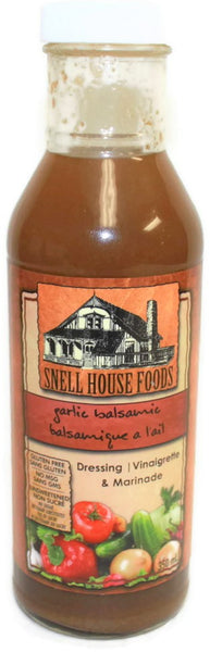 Snell House Garlic Balsamic Vinaigrette